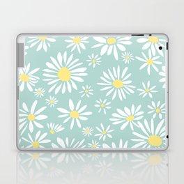 white daisies Laptop & iPad Skin