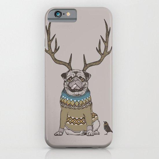 Deer Pug iPhone & iPod Case