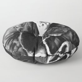 The Picture of Oscar Wilde Floor Pillow