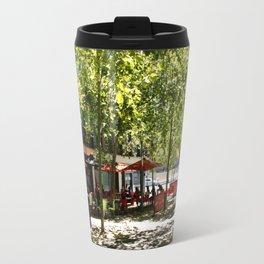 Street Cafes Travel Mug