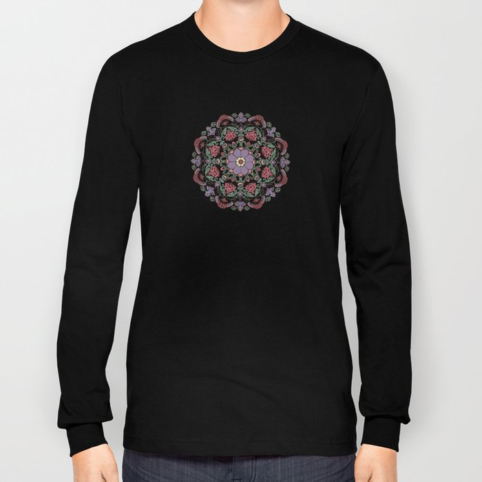Deco Floral Long Sleeve T-shirt