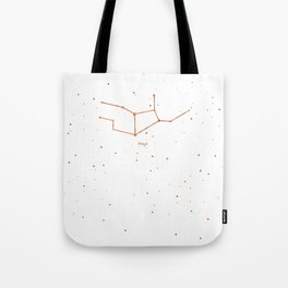 Virgo Star Constellation Tote Bag