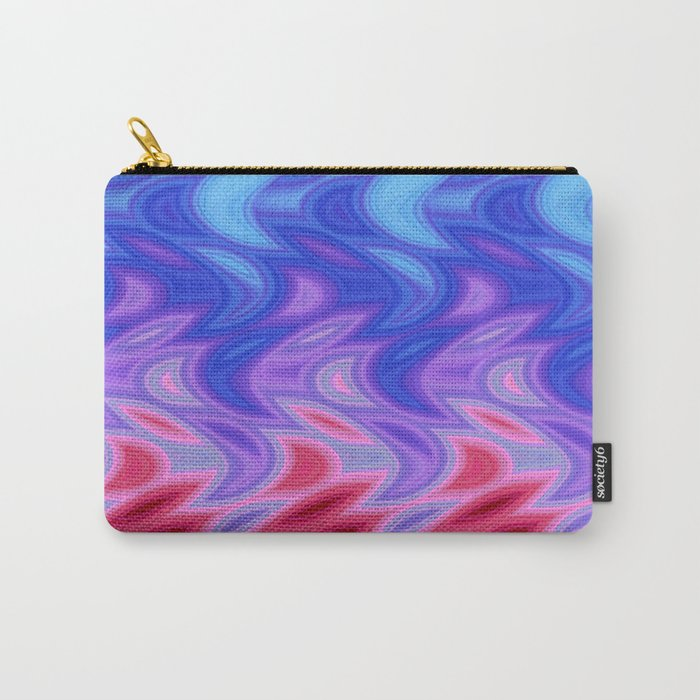 Waterfall of Color Carry-All Pouch