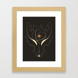 Wolfgun - Road To Jupiter II Framed Art Print