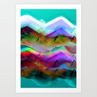 Ocean-Race  no21 Art Print