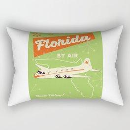 Florida By air - vintage travel poster Rectangular Pillow