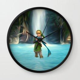Adventure of Zelda Wall Clock