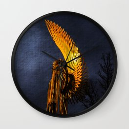 Angel Of The Morning Wall Clock