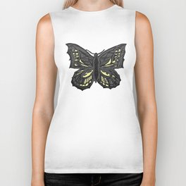 The Beauty in You - Butterfly #1 #drawing #decor #art #society6 Biker Tank