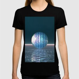 Glowing Blue Sphere T-shirt