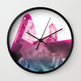 Rainbow Gems Wall Clock