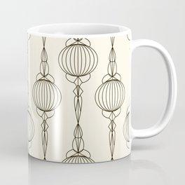 Art Deco No. 50 . Christmas decorations . Coffee Mug