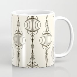 Art Deco No. 50 . Christmas decorations . Coffee Mug