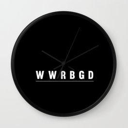 What would RBG Do? Wall Clock