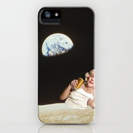 Marilyn's Mooning Us iPhone Case