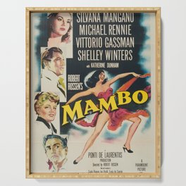 Classic Movie Poster - Mambo Serving Tray