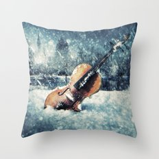 Wistful Abandonment Throw Pillow