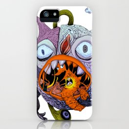 The taste of gold iPhone Case