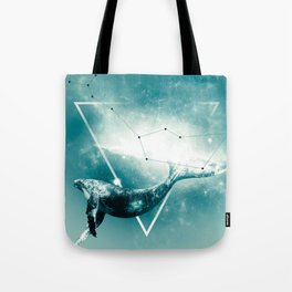 The Whale - Blu Tote Bag
