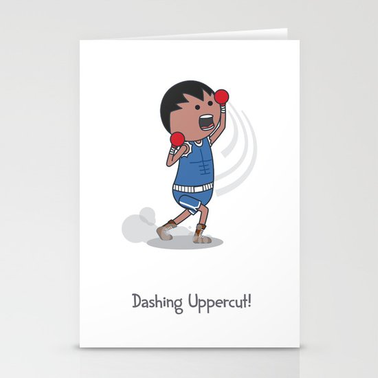 Dashing Uppercut Stationery Cards