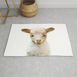 Baby Lamb Portrait Rug