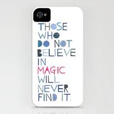 Believe in magic... Slim Case iPhone (4, 4s)