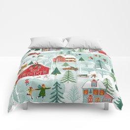 New England Christmas Comforters