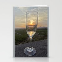 champagne Stationery Cards featuring Champagne by RubenBer
