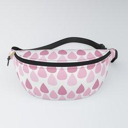 Pink drop pattern Fanny Pack