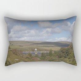 Craig Goch Dam III Rectangular Pillow