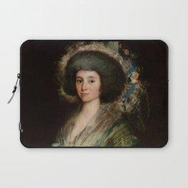 "Francisco Goya ""Portrait of Senora Ceán Bermudez"" Laptop Sleeve"