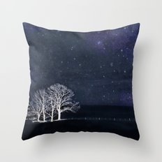The Fabric of Space and the Boundary of Knowledge Throw Pillow