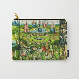 The Garden of Earthly Delights Triptych by Hieronymus Bosch Carry-All Pouch
