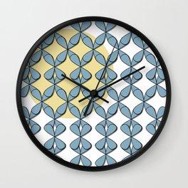 Leafs in the Sun Wall Clock