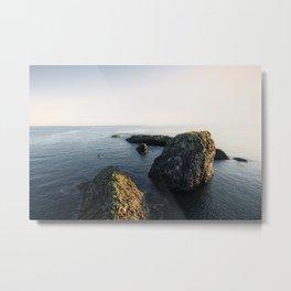 Rocks in the Ocean Metal Print