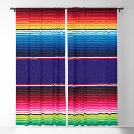 Serape of Mexico Blackout Curtain
