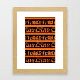 toga party Framed Art Print