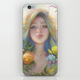 clip studio paint portrait iPhone Skin
