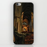 patrick iPhone & iPod Skins featuring saint patrick by Lisa Carpenter