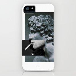 A classic cigarette. iPhone Case