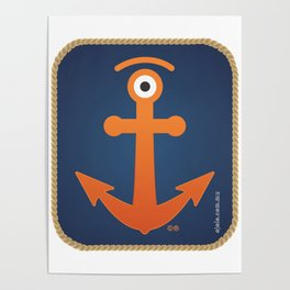 anchored glance Poster