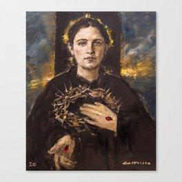 The Passion of Saint Gemma Galgani Canvas Print