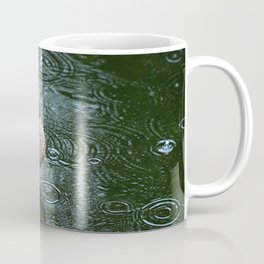 Mallard Ducks in the Rain Coffee Mug