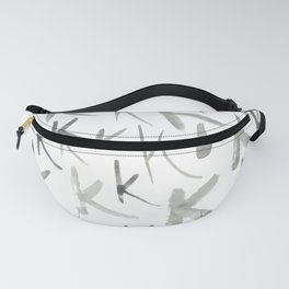 Watercolor K's - Grey Gray Fanny Pack