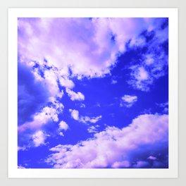 cloudy sky 3 db Art Print