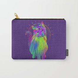 Psychedelic Psychic Cat Carry-All Pouch