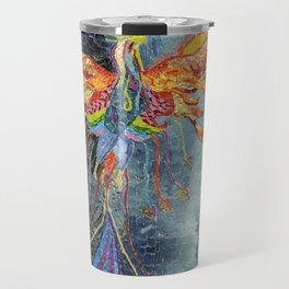 The Phoenix Rising From the Ashes Travel Mug