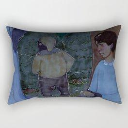 The Argument Rectangular Pillow