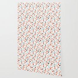 Ditsy Geometric Shapes Wallpaper
