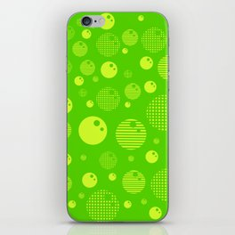 Bubblemagic - Lime iPhone Skin
